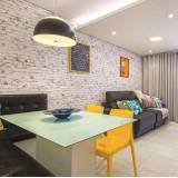 quanto custa papel de parede para apartamento Ibirapuera